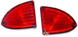 1960 1961 1962 1963 1964 1965 1966 Chevrolet GMC Suburban Panel Tail Light Lens