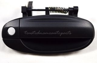 Front Right Textured Black Outside Outer Exterior Door Handle 04 08 Chevy Aveo