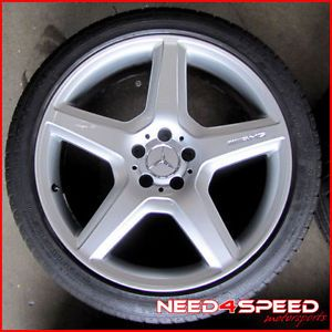 "20"" Factory Mercedes Benz W216 CL550 CL63 CL65 AMG Wheels Continental Tires"