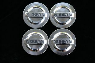 Nissan 350Z Maxima Factory Chrome Center Caps