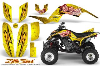 Yamaha Raptor 660 Graphics Kit Creatorx Decals Stickers LSY