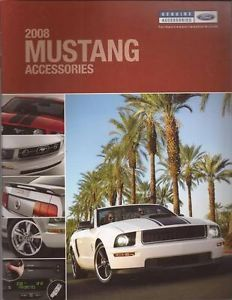 2008 08 Ford Mustang Accessories Brochure