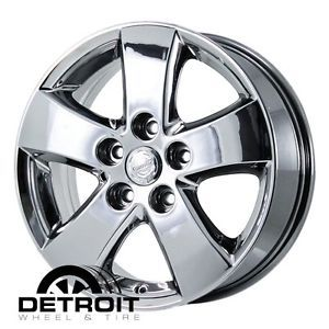 Dodge Journey PVD Bright Chrome Wheels Factory Rim 2372 Exchange 2009 2010