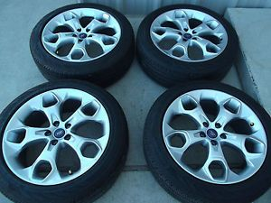"19"" Ford Escape 2013 2014 Factory Wheels Continental Tires Rims 3947"