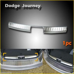 For 2009 2013 Dodge Journey Stainless Steel Rear Bumper Door Sill Plate Inside