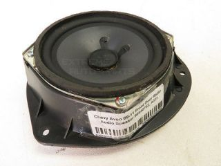 Chevy Aveo 09 11 Front Door Radio Audio Speaker 96540752 A331