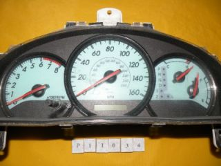04 05 Solara 2004 2005 Speedometer Instrument Cluster Dash Panel 106 710