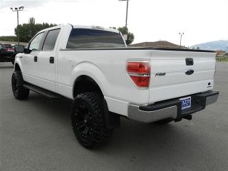 Ford Crew Cab F150 XLT 4x4 Custom New Lift Wheels Tires Auto Tow Longbed
