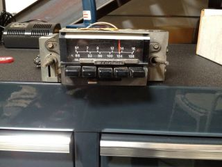 1971 1972 1973 Ford Mustang Cougar Factory Am FM Stereo Radio