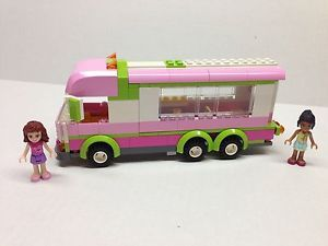 Lego Friends Custom Extended RV Tour Bus Built from All New Parts L K