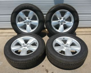 "2002 2013 Dodge RAM 1500 20"" Argent Wheel and Tire Combo"