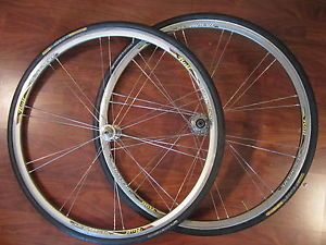 Rolf Sestriere 700c Campy Hub Clincher Wheels Set Continental Grand Prix Tires