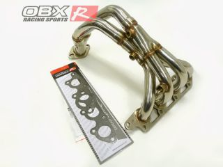 OBX Exhaust Header 99 00 01 02 03 04 Ford Focus 2 0L Ztec Stainless Steel