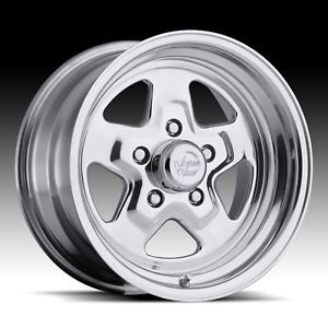 Crager Weld Wheel Style 15x8 Street Star Ford Chevy Dodge Musclecar Wheels