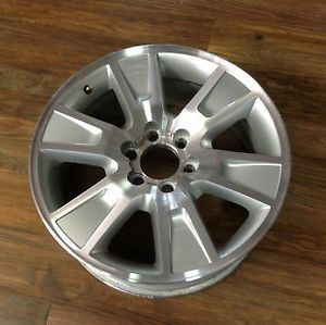 09 10 11 12 Ford F 150 Silver Machined 6 Spoke 3787 Factory Original Rim Wheel