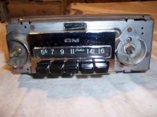 1968 72 Chevy GMC Pick Up Truck Radio