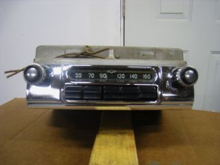 1954 Chevy Bel Air 210 150 Stock Radio
