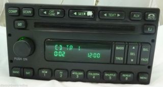 98 03 Ford Lincoln Mercury F150 Expedition Radio 6 CD 5L8T 18C869 AC