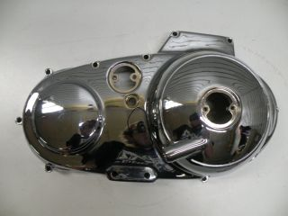 Used Chrome Harley Sportster XL Outer Primary Engine Side Cover Case 1991 2003