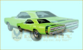 1969 Dodge Coronet R T RT Bumble Bee Decals Stripes Kit