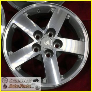 "05 06 07 Saturn Vue 16"" Machined Silver Take Off Wheel Set Rim 7038"