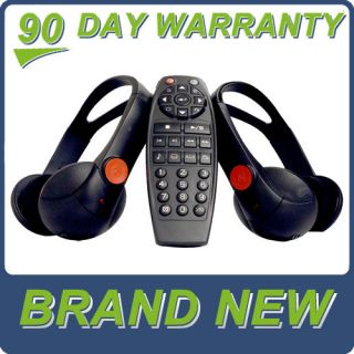 New Chevy GMC Escalade Saturn DVD Headphones Headsets Remote Control 2005 2012