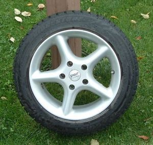 4 Bridgestone Blizzak WS70 Snow Tires 205 55 R16 on Rims with TPMS Sensors
