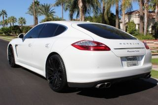 Porsche Panamera Turbo Sedan 4 Door All Wheel Drive Leather Nav AWD European SDN