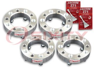"4pc 1 5"" Wheel Spacers Dodge RAM 1500 Dakota 5x5 5 Adapters Lugs Studs GC"