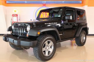 2010 Jeep Wrangler Rubicon 6 Speed Manual Removable Hard Top New Tires