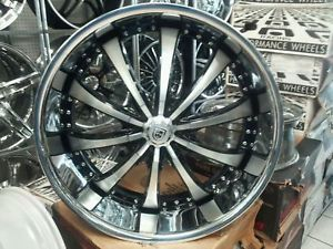 "26"" Lexani LSS 10 Wheels Tire Dub Forgiato asanti MHT"