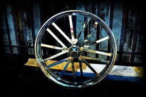 "26"" INCH CUSTOM MOTORCYCLE WHEEL FOR HARLEY BAGGER, TOURING, STREETGLIDE, NEW"