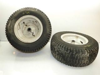 "MTD Ranch King Pro 22HP 50"" Mower Carlisle 16x6 50 8 Front Tires Rims"