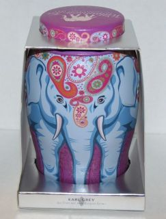 Williamson Large Elephant Tea Caddy Earl Grey 40 Tea Bags