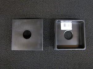 "RV Parts 4"" Bumper Plug Cover 2 Pack camper motorhome Travel Trailer Pop Up"