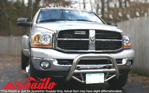 2009 2012 Dodge RAM 1500 Stainless Steel Super Bull Bar Nudge
