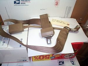 88 99 Chevy 1500 GMC Pickup Truck Passenger Bench Seat Lap Seat Belt BROWN2