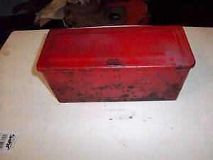 8N Ford Tractor Original Tool Box