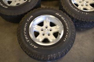 "15"" Jeep Wrangler Grand Cherokee Factory Wheels Rims BFGoodrich Tires"