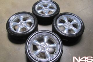 "20"" RARE Dodge Challenger Heritage Nostalgia Chrome Wheels Rims Nitto Tires"