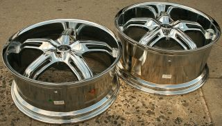 Dub Drone S155 22 x 9 0 10 5 Chrome Rims Wheels 300 300C V8 5H 15