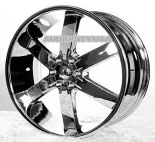 "22"" AC55 CH Wheels and Tires Rims for Chevy Cadillac Ford RAM Toyota"