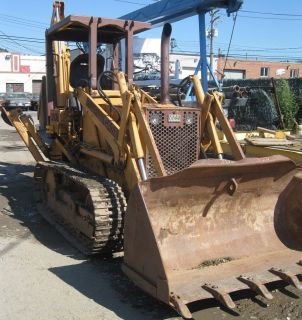 Case 350B Tractor Loader with Backhoe Optional Trailer Available