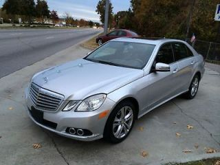 Beautiful One Owner 2010 Mercedes E Class with No Accidents