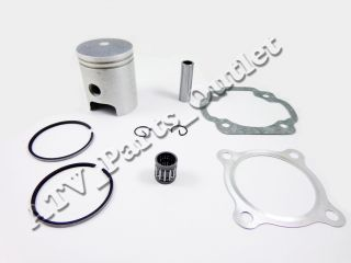 Yamaha PW80 PW 80 Engine Motor Piston Kit w Rings 80cc 1983 2006 Dirt Bike Pit