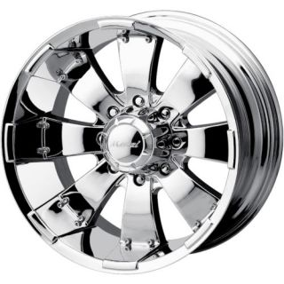 18x10 Chrome Mazzi Hulk 6x5 5 25 Wheels Nitto Terra Grappler LT295 70R18 Tires