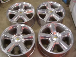 "20"" Chevy Tahoe Factory Alloys LTZ Wheels Silverado Suburban Wheels"