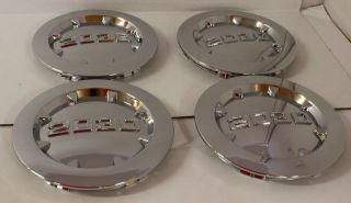 Set of 4 2030 Aftermarket Chrome GMC Denali Center Caps Fits 20 in Wheels