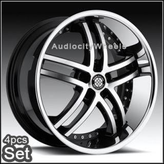 "22inch Mercedes Benz Rims Wheels S550 ml GL 6 5""Lip"