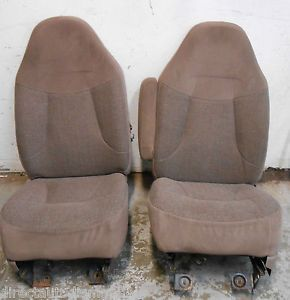 Ford Pickup Truck Bronco F Series F150 F250 F350 Front Bucket Seat Seats 92 96